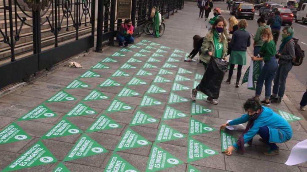 Aborto legal: redoblan presión sobre Alberto Fernández
