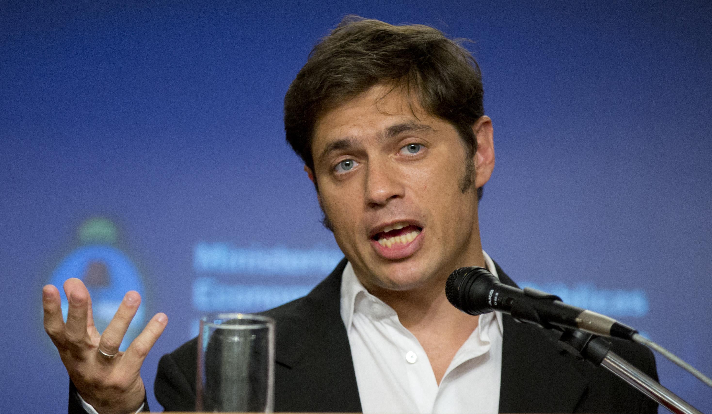Kicillof: a este país lo vamos a poner de pie las y los argentinos