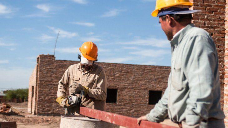 La construcción inició el año con un salto del 23,3%