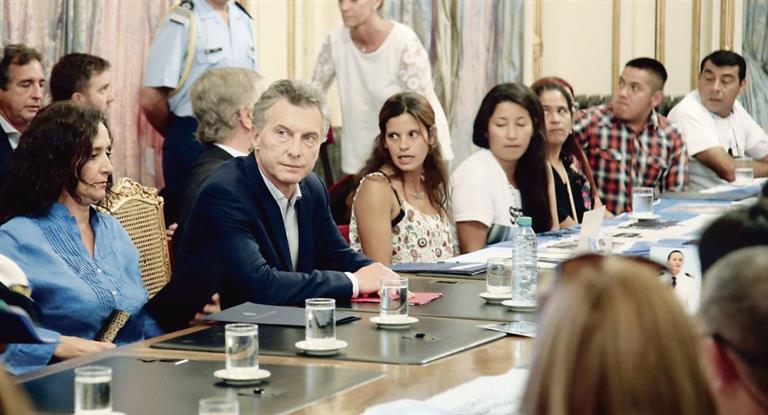 Macri reunió a su mesa de seguridad por la tensión social