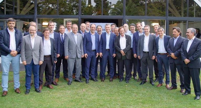 Macri y jefes comunales oficialistas se reunieron en Olivos