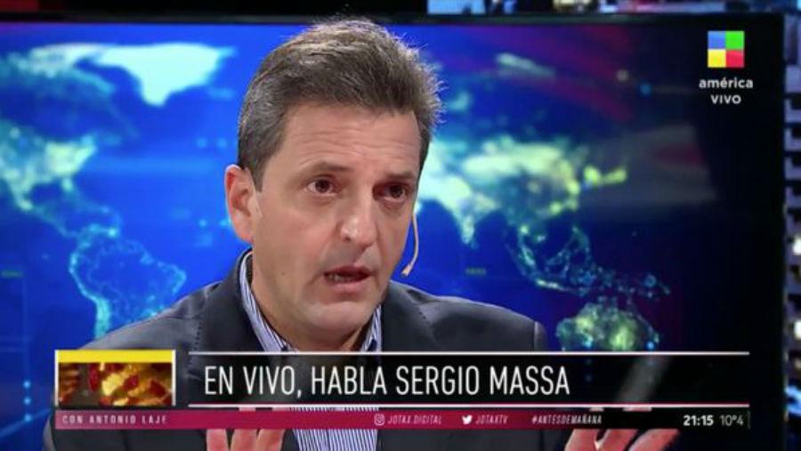 Massa no descarta volver al Partido Justicialista
