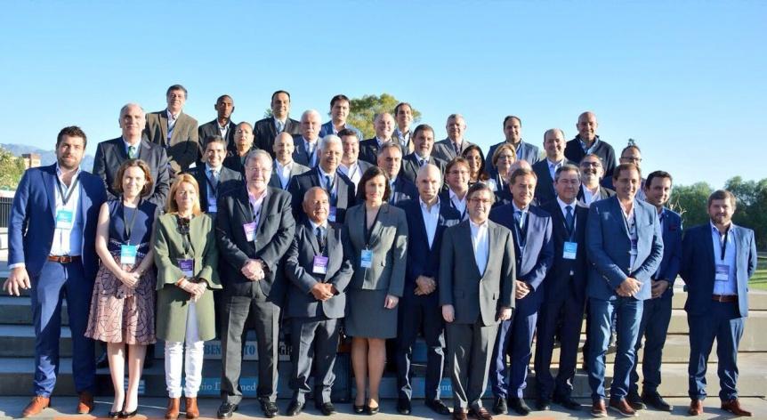 Molina participó del Foro Iberoamericano de Alcaldes