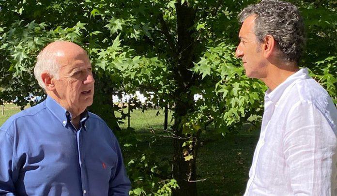Randazzo volvió y se junta con Roberto Lavagna