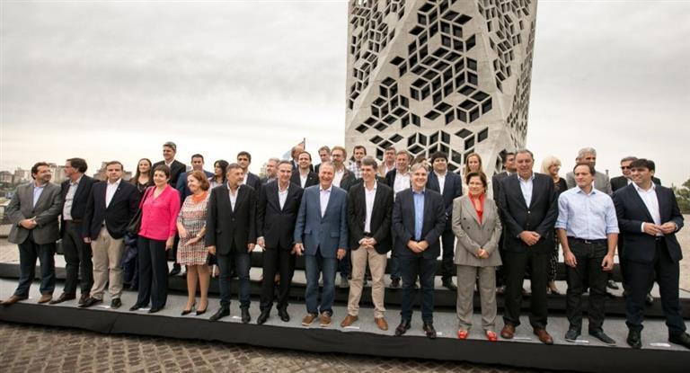 Massa, Randazzo y gobernadores en una cumbre del peronismo bonarense