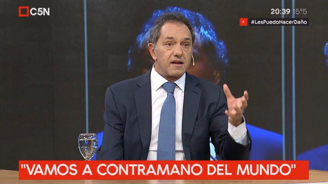 Volvio Scioli: