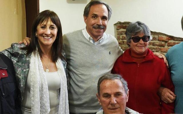 Tundi junto a Crespo y Arteaga en La Plata