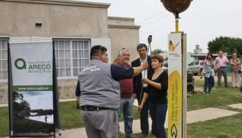 Extensión de red de gas en el Barrio los Naranjos