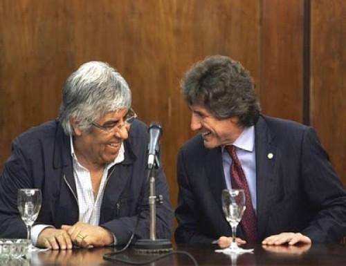 Con el apoyo de Moyano, Boudou lanzó su candidatura a jefe de gobierno porteño