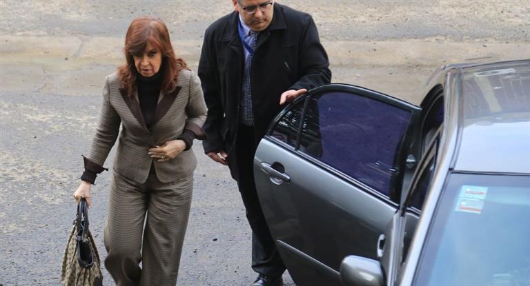 Cristina está procesada en seis causas