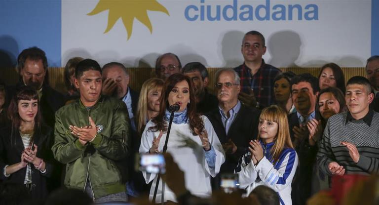 Cristina pidió un voto contra el Gobierno