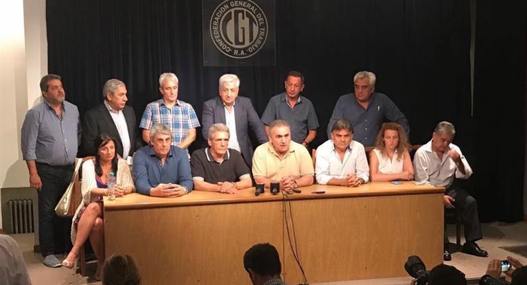 La CGT lanza paro nacional para el viernes