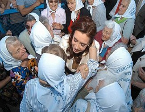 Cristina Kirchner lanza el Plan nacional de derechos humanos