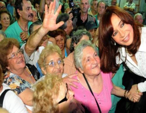 Cristina vetara el 82 por ciento