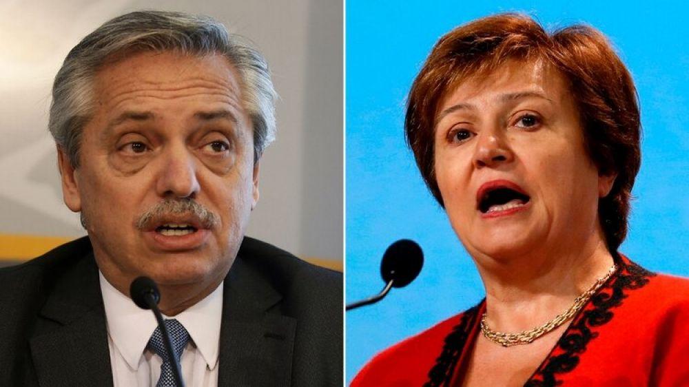 Alberto Fernández se aleja del equilibrio fiscal