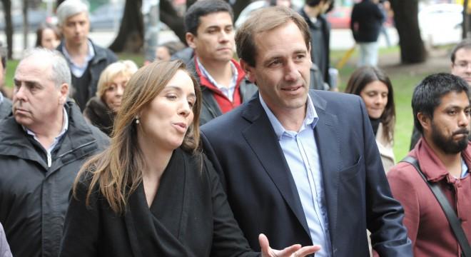 Vidal y Garro recorrió obras hidráulicas en La Plata