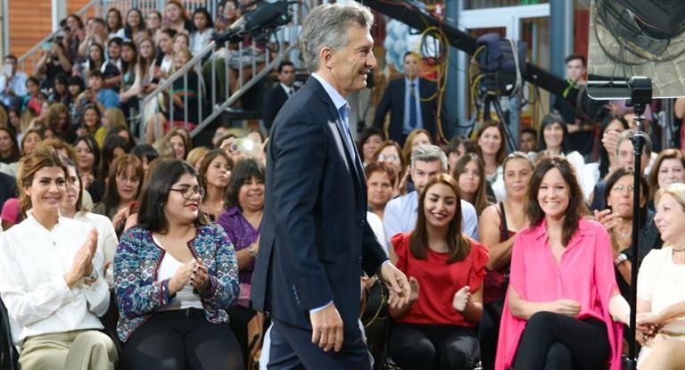 Macri anunció proyecto de ley para promover la equidad de género