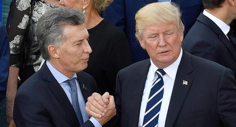 Macri llamó a Trump para ratificar el apoyo de EEUU al acuerdo con el FMI