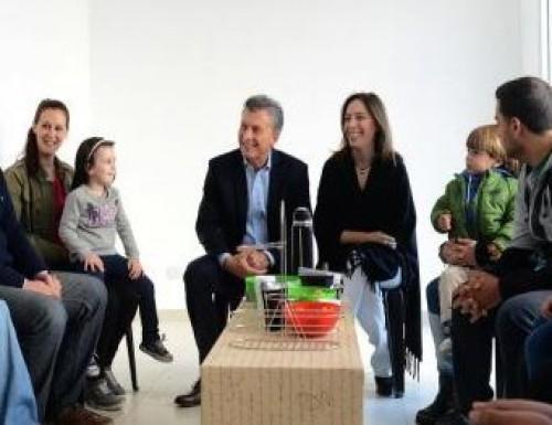 Macri y Vidal volvieron a mostrarse juntos en el conurbano bonaerense
