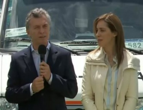 El Presidente participó de un acto con vecinos en Chaco