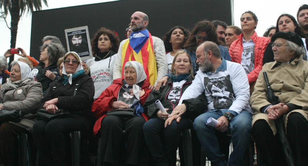 Una nueva marcha volvió a reclamar la aparición con Maldonado