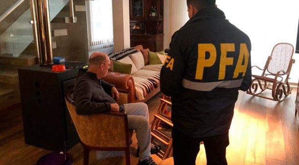 Detuvieron al ex fiscal Moran acusado de integrar una banda con policías y funcionarios