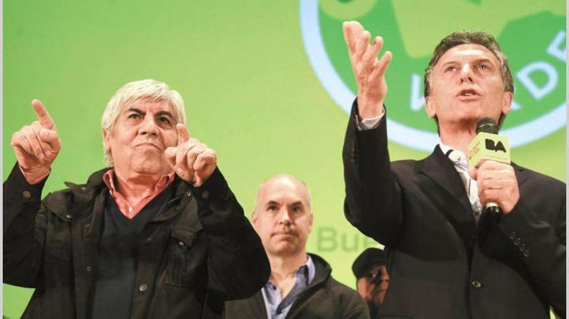 Moyano desmintió haber tenido una relación política con Macri en 2015