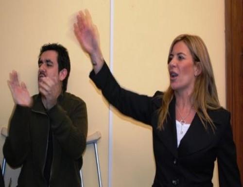 Arlia y Nora de Lucia homenajearon a Kirchner