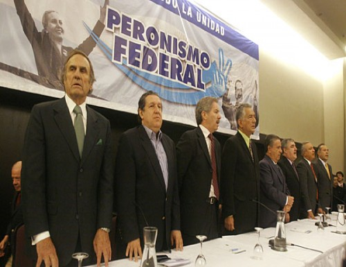 El Peronismo Federal  negó acercamiento de Scioli con ese sector