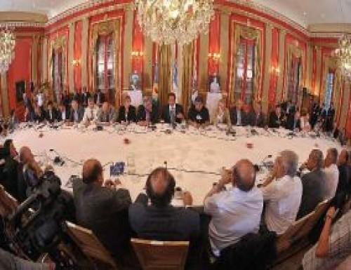 vacío de los gobernadores en reunión del PJ nacional