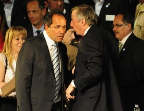 Kirchner y Scioli, se volvieron a ver