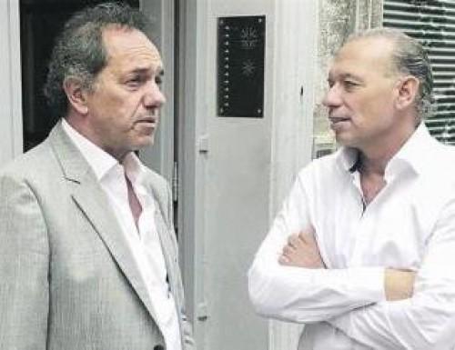 Scioli y Randazzo ya se muestran como candidato