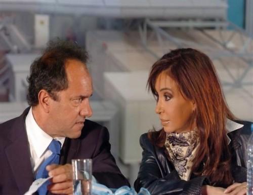 Scioli y su relación con la Rosada