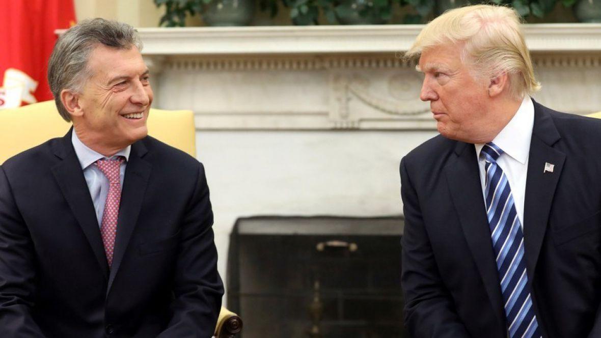 Trump habló con Macri y respaldó las reformas económicas
