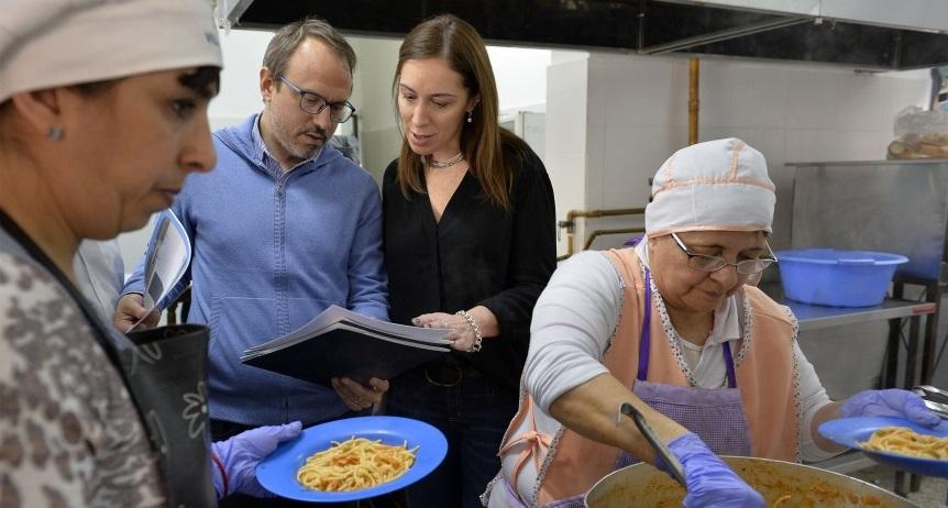 Vidal, en un operativo de control del Servicio Alimentario Escolar