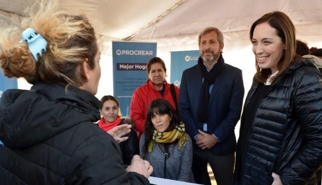 Vidal y Rogelio Frigerio presentaron el programa