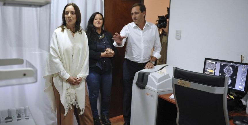 Garro y Vidal visitó un Centro Integral en La Plata