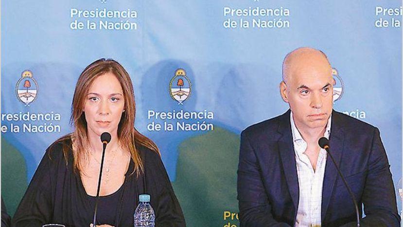 Vidal y Larreta prometen austeridad a Dujovne