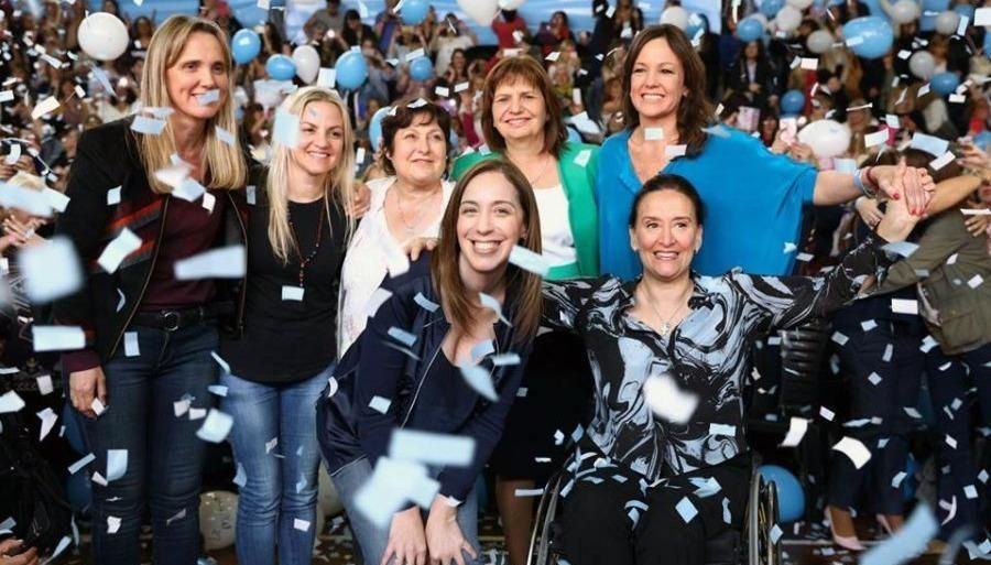 La primera reunión de gabinete ampliado sólo para mujeres