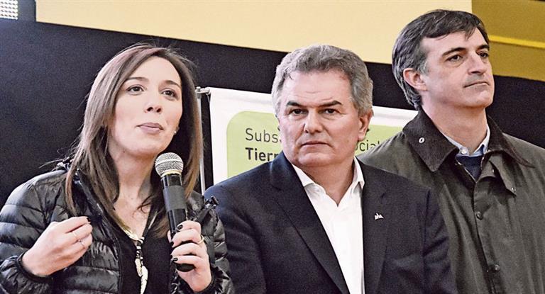 Vidal volvió a defender el pedido por el Fondo del Conurbano