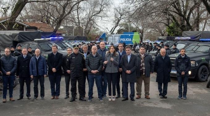Vidal anunció mayor presencia policial en la Provincia